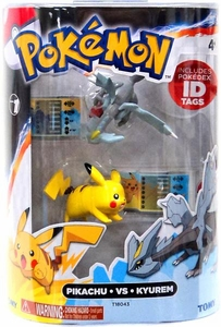 Pokemon TOMY Basic Figure 2-Pack Pikachu & Kyurem