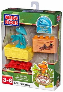 Dinosaur Train Mega Bloks Set #7403 Shiny