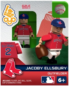 OYO Baseball MLB Generation 2 Building Brick Minifigure Jacoby Ellsbury [Boston Red Sox]