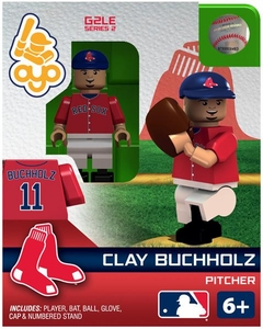OYO Baseball MLB Generation 2 Building Brick Minifigure Clay Buchholz [Boston Red Sox]