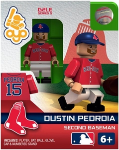 OYO Baseball MLB Generation 2 Building Brick Minifigure Dustin Pedroia [Boston Red Sox]
