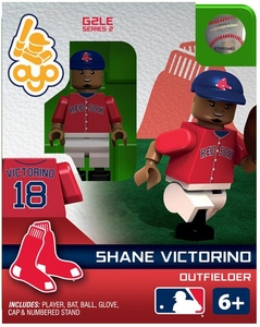 OYO Baseball MLB Generation 2 Building Brick Minifigure Shane Victorino [Boston Red Sox]