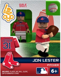 OYO Baseball MLB Generation 2 Building Brick Minifigure Jon Lester [Boston Red Sox]