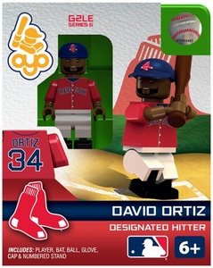 OYO Baseball MLB Generation 2 Building Brick Minifigure David Ortiz [Boston Red Sox]