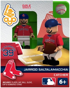 OYO Baseball MLB Generation 2 Building Brick Minifigure Jarrod Saltalamacchia [Boston Red Sox]