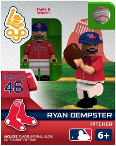OYO Baseball MLB Generation 2 Building Brick Minifigure Ryan Dempster [Boston Red Sox]