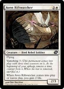 Magic the Gathering Planar Chaos Single Card Common #1 Aven Riftwatcher