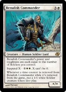 Magic the Gathering Planar Chaos Single Card Rare #2 Benalish Commander