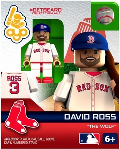 OYO Baseball MLB Generation 2 Building Brick Minifigure #GETBEARD David Ross [Boston Red Sox]