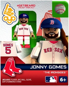 OYO Baseball MLB Generation 2 Building Brick Minifigure #GETBEARD Jonny Gomes [Boston Red Sox]