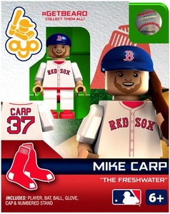 OYO Baseball MLB Generation 2 Building Brick Minifigure #GETBEARD Mike Carp [Boston Red Sox]