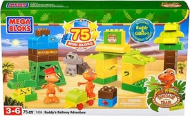 Dinosaur Train Mega Bloks Set #7404 Buddy's Railway Adventure
