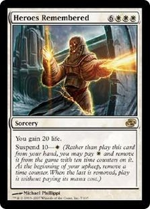 Magic the Gathering Planar Chaos Single Card Rare #7 Heroes Remembered