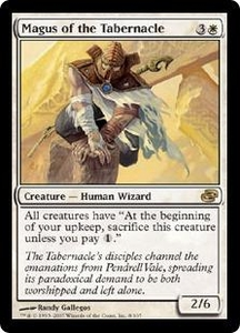 Magic the Gathering Planar Chaos Single Card Rare #8 Magus of the Tabernacle