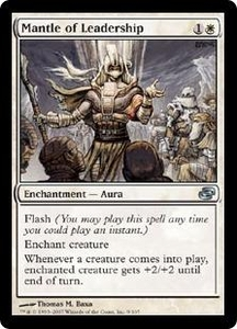 Magic the Gathering Planar Chaos Single Card Uncommon #9 Mantle of Leadership