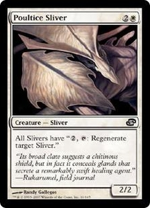 Magic the Gathering Planar Chaos Single Card Common #11 Poultice Sliver
