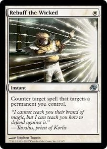 Magic the Gathering Planar Chaos Single Card Uncommon #12 Rebuff the Wicked