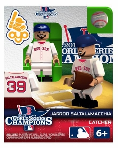 OYO Baseball MLB Generation 2 Building Brick Minifigure 2013 World Series Champions Jarrod Saltalamacchia  [Boston Red Sox]