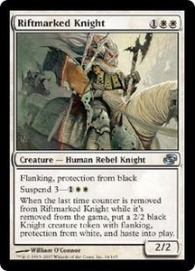 Magic the Gathering Planar Chaos Single Card Uncommon #14 Riftmarked Knight