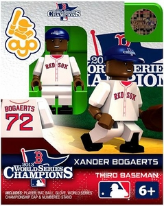 OYO Baseball MLB Generation 2 Building Brick Minifigure 2013 World Series Champions Xander Bogaerts [Boston Red Sox]