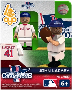 OYO Baseball MLB Generation 2 Building Brick Minifigure 2013 World Series Champions John Lackey [Boston Red Sox]