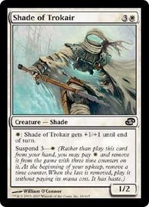 Magic the Gathering Planar Chaos Single Card Common #18 Shade of Trokair