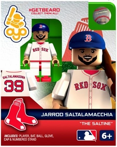 OYO Baseball MLB Generation 2 Building Brick Minifigure #GETBEARD Jarrod Saltalamacchia [Boston Red Sox] [