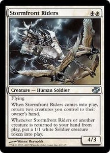 Magic the Gathering Planar Chaos Single Card Uncommon #20 Stormfront Riders