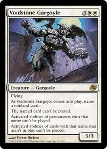 Magic the Gathering Planar Chaos Single Card Rare #21 Voidstone Gargoyle