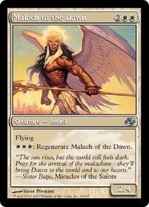 Magic the Gathering Planar Chaos Single Card Uncommon #24 Malach of the Dawn