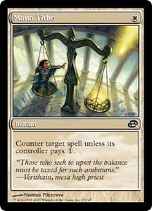 Magic the Gathering Planar Chaos Single Card Common #25 Mana Tithe