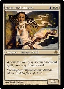Magic the Gathering Planar Chaos Single Card Rare #26 Mesa Enchantress