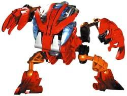 LEGO Bionicle BOHROK Figure #8563 Tahnok [Red]
