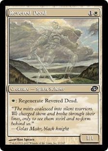Magic the Gathering Planar Chaos Single Card Common #29 Revered Dead