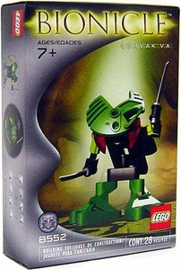 LEGO Bionicle Set #8552 Lehvak Va [Green]
