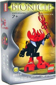 LEGO Bionicle Set #8554 Tahnok Va [Red]