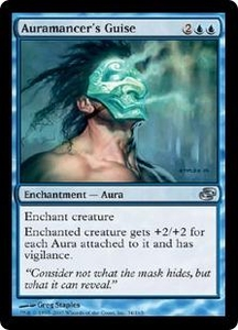 Magic the Gathering Planar Chaos Single Card Uncommon #34 Auramancer's Guise