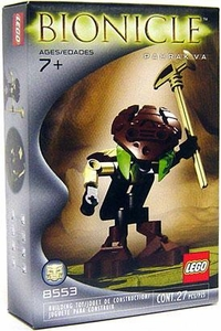 LEGO Bionicle Set #8553 Pahrak Va [Brown]