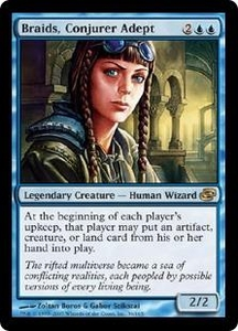 Magic the Gathering Planar Chaos Single Card Rare #36 Braids, Conjurer Adept