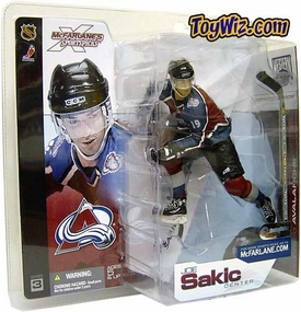 McFarlane Toys NHL Sports Picks Series 3 Action Figure Joe Sakic (Colorado Avalanche) Blue Jersey BLOWOUT SALE!