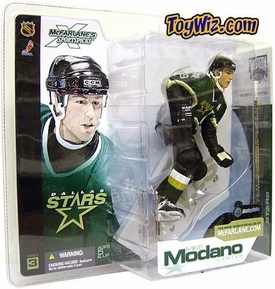 McFarlane Toys NHL Sports Picks Series 3 Action Figure Mike Modano (Dallas Stars) Green Jersey
