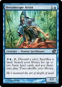 Magic the Gathering Planar Chaos Single Card Common #40 Dreamscape Artist