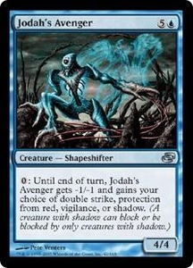 Magic the Gathering Planar Chaos Single Card Uncommon #42 Jodah's Avenger Foil!