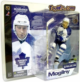 McFarlane Toys NHL Sports Picks Series 3 Action Figure Alexander Mogilny (Toronto Maple Leafs) White Jersey