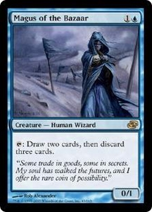 Magic the Gathering Planar Chaos Single Card Rare #43 Magus of the Bazaar