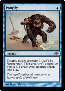 Magic the Gathering Planar Chaos Single Card Uncommon #44 Pongify
