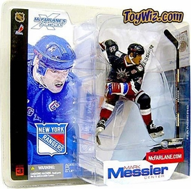 McFarlane Toys NHL Sports Picks Series 3 Action Figure Mark Messier (New York Rangers) Statue of Liberty Jersey Damaged Package, Mint Contents!