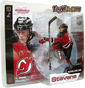 McFarlane Toys NHL Sports Picks Series 3 Action Figure Scott Stevens (New Jersey Devils) Red Jersey