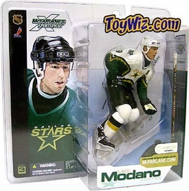 McFarlane Toys NHL Sports Picks Series 3 Action Figure Mike Modano (Dallas Stars) White Jersey Variant