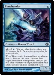 Magic the Gathering Planar Chaos Single Card Uncommon #50 Timebender